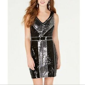 Sequin mini dress 5/6